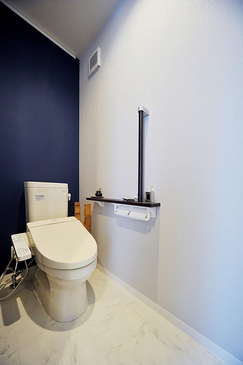 アクセントクロスとトイレ